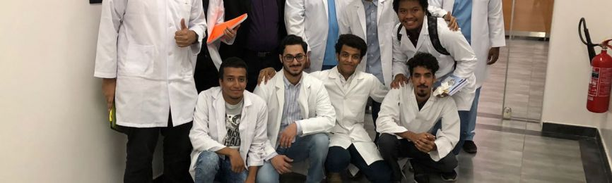 Pharmacy College organizes a student tour to a factory of United Medical Solutions, Inc
