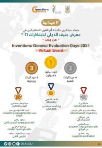 Dalia Abu Rayya Wins the Silver Medal at the International Exhibition of Inventions in Geneva