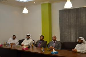 College of Pharmacy Receives AbbVie and Tabuk Pharmaceuticals Delegate