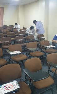 Conducting the Midterm Exams in Attendance on the Campus