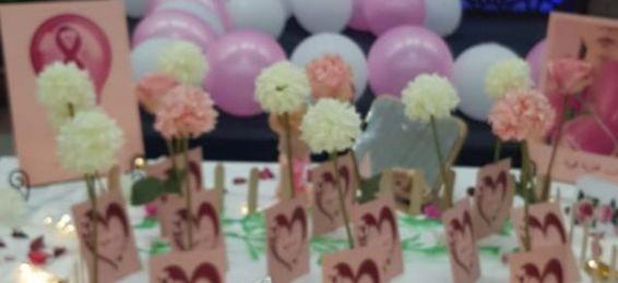 وكالة السنة الأولي المشتركة شطر الطالبات بالعابدية تنظم لقاء توعويا عن سرطان الثدي