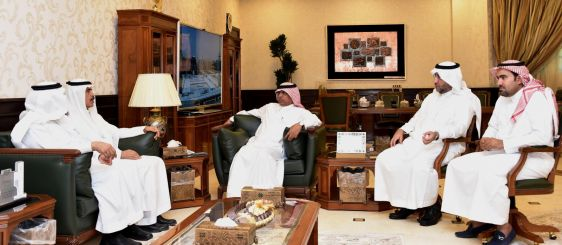 UQU President Meets Director General of Planning and Budget at the Ministry of Finance