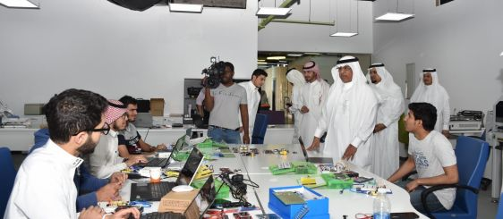 UQU President Inspects Summer Program for Students at Wadi Makkah Company
