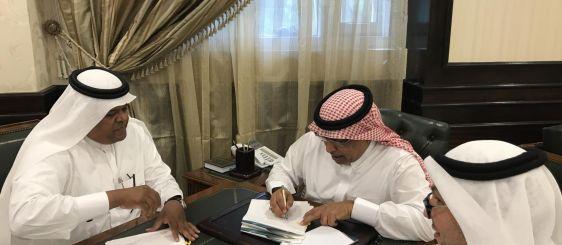 معالي مدير الجامعة يوقع اتفاقية لتنفيذ 3 مبادرات ضمن خطة التحول الوطني 2020