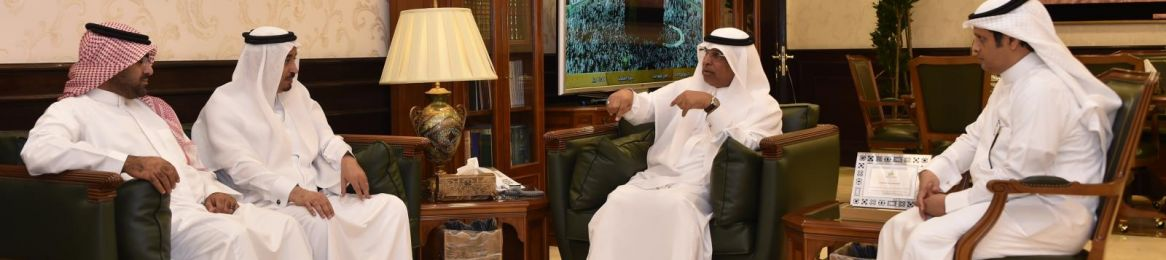 UQU President Receives Director General of Saudi Post in Makkah