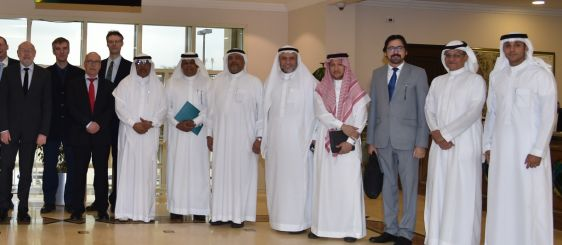 Delegation of German Accreditation Agency Checks on Programs of Colleges of Engineering and Applied Sciences