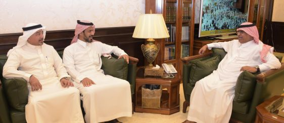 UQU President Discusses Joint Cooperation with Ministry of Communications for Technology Industry's Undersecretary