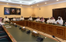 معالي مدير الجامعة يترأس اجتماع اللجنة العليا للاعتماد المؤسسي