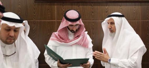 سمو نائب أمير منطقة مكة يستقبل معالي مدير الجامعة