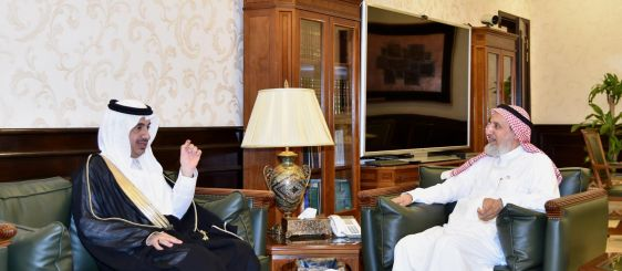 UQU President Receives Jamoum Governor