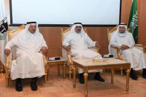 UQU Vice President for Graduate Studies Launches Ataa Initiative to Support Scientific Research
