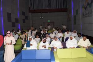 معالي مدير الجامعة يفتتح لقاء مطوري قوقل بوادي مكة