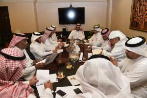 Committee of Granting Honorary Doctorate to Dr. Al-Angary Continues Meetings