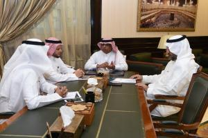 UQU President Discusses Plan of Transformation to  Self-Operating System at the Preparatory Year