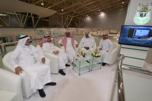 Presidents of the Universities Visit UQU Pavilion at IECHE, Show Admiration for Startups
