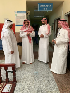 The Dean of the College of Medicine in Al-Qunfudhah Receives the Dean of Information Technology at the University