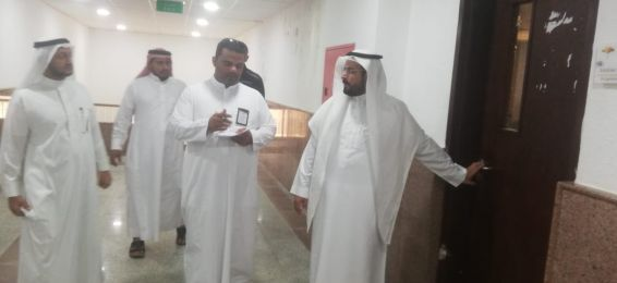 Dean of Al-Qunfudhah University College Inspects the Progress of Work in the Departments, Vice Deanships, and Administrative Units