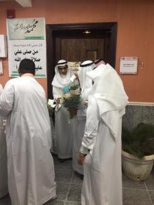 سعادة عميد الكلية في زيارة تفقدية لمباني الكلية الجامعية شطر الطالبات والملحق