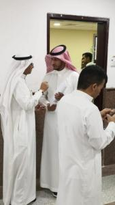 The Receipt of Applications to Modify the Course Schedules (Delete or Add Courses) at Al-Qunfudhah University College