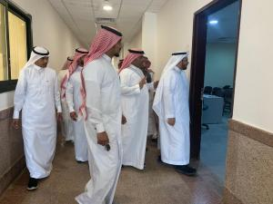 The General Supervisor of the Department of Facilities and Services Visits Al-Qunfudhah University College