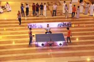 Table Tennis Finals at Al-Qunfudhah University College