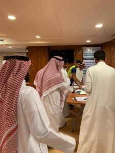 Al-Qunfudhah University College Hands Over the Graduation Documents to the Students