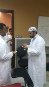 His Excellency the Dean of Al-Qunfudhah University College Visits the Female Students Branch
