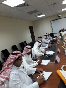 Arabic Language Department in Al-Qunfudhah Organizes a Training Workshop for Postgraduate Students