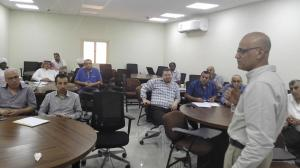 Vice Deanships of Al-Qunfudhah University College for Development Holds Workshop on (Three First Standards)