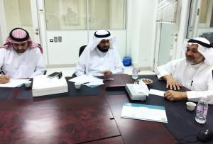 A Delegation from the Qassim University Scientific Council Visits UQU