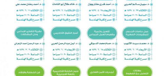 El Decanato de Alumnos anuncia una serie de cursos de formación