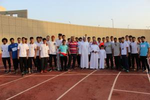 قسم التربية البدنية يقيم بطولة ألعاب القوى ضمن فعاليات اليوم الرياضي