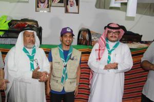 Umm Al-Qura University's Scouts Take Part in Serving the Guests of Al-Rahman