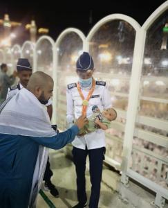Umm Al-Qura University Scouts Partake in Serving the Guests of Al-Rahman