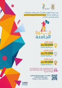 The Deanship of Student Affairs Announces the Start of Registration in the UQU Role Model Contest
