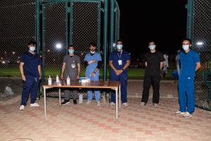 A Friendly Sports Meeting Held under the COVID Preventive Measures