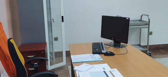 افتتاح العيادة الطبية في الكلية الجامعية بأضم