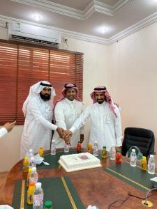 الكلية الجامعية بأضم تحتفي بسعادة الدكتور عبدالعزيزعلي عبيديالزبيدي