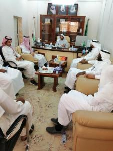 The UQU Smoking and Narcotics Control Committee Visits Adham University College