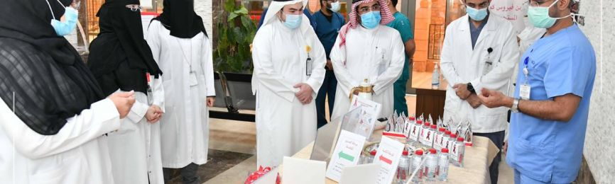 المركز الطبيُّ بـ(أم القرى) ينظِّم فعالية توعويَّة بمناسبة اليوم العالميِّ للإيدز