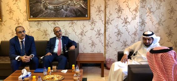 A Visit by the Delegation from Imam Abdul-Rahman bin Faisal University to Umm Al-Qura University